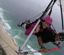 Flying over Rio de Janeiro with Manny