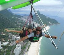 Hang Gliding over São Conrado Beach, Rio de Janeiro